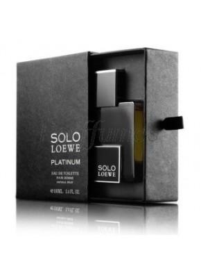 perfume Loewe Solo Platinium edt 100ml - colonia de hombre