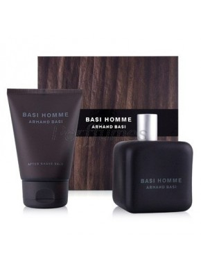 perfume Armand Basi Basi Homme edt 125ml + After Shave Balm 100ml - colonia de hombre