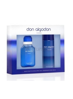 perfume Don Algodon hombre edt 100ml + Deo 200ml - colonia de hombre
