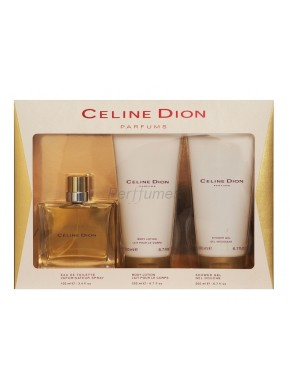 perfume Celine Dion Parfums Celine Dion edt 100ml + Body Lotion 200ml + Shower Gel 200ml - colonia de mujer