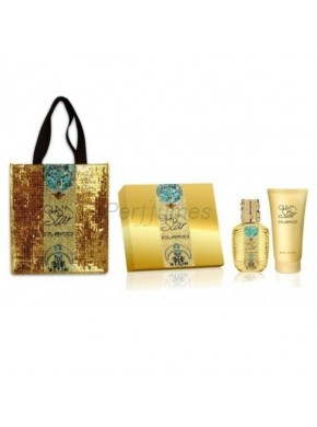 perfume Custo Barcelona Custo Glam Star edt 100ml + Body Lotion 200ml - colonia de mujer