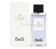 D&G 10 La Roue de la Fortune edt 100ml