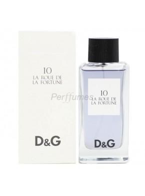 perfume Dolce Gabbana D&G 10 La Roue de la Fortune edt 100ml - colonia de unisex