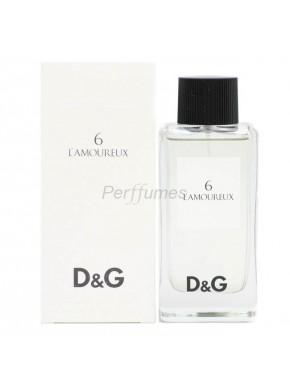 perfume Dolce Gabbana D&G 6 L'Amoureux edt 100ml - colonia de hombre