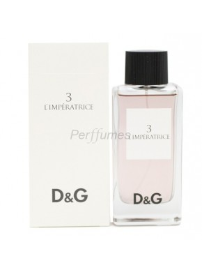 perfume Dolce Gabbana D&G 3 L'Imperatrice edt 100ml - colonia de mujer