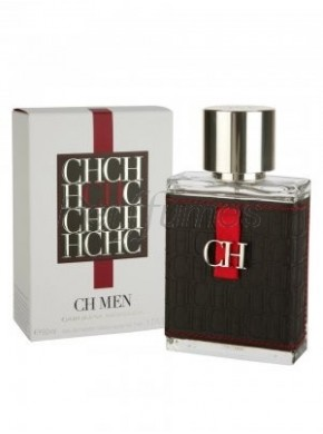 perfume Carolina Herrera CH Men edt 50ml - colonia de hombre
