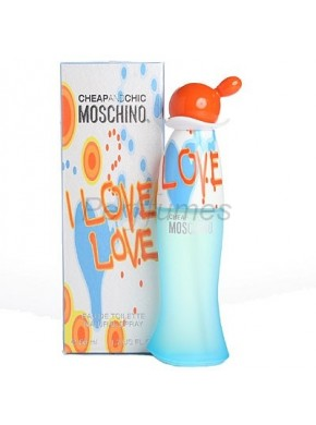 perfume Moschino I Love Love edt 100ml - colonia de mujer
