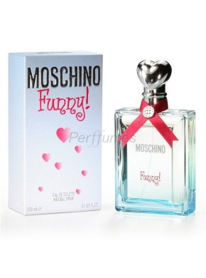perfume Moschino Funny edt 100ml - colonia de mujer