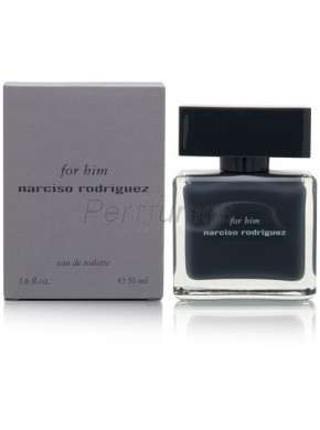 perfume Narciso Rodriguez For Him edt 50ml - colonia de hombre