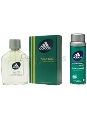 perfume Adidas Sport Field edt 50ml + Deo 150ml - colonia de hombre