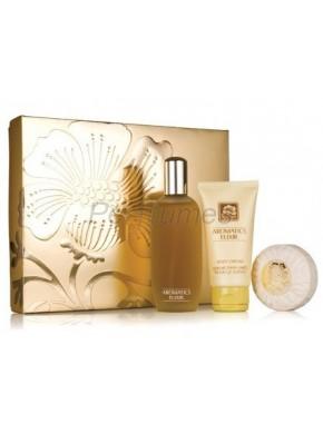 perfume Clinique AROMATICS ELIXIR EDP 100ml+ Crema Corporal 75ml + Jabón 75gr - colonia de mujer