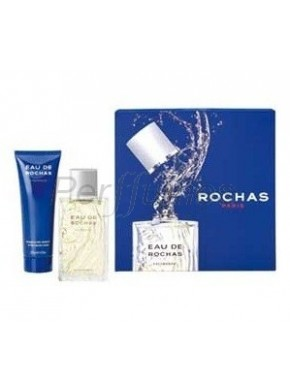 perfume Rochas Eau Homme edt 100ml + After Shave 125ml - colonia de hombre
