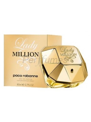 perfume Paco Rabanne Lady Million edp 80ml - colonia de mujer