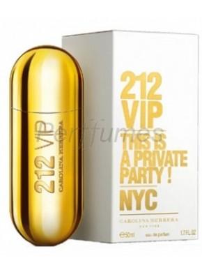 perfume Carolina Herrera 212 Vip edp 50ml - colonia de mujer