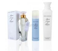 Agua Fresca de Rosas edt 120ml + Leche Hidratante 500ml + Desodorante 150ml