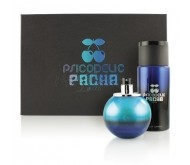 Pacha Psicodelic edt 100ml + Gel de Ducha 15ml + After Shave 15ml + Champú 15ml