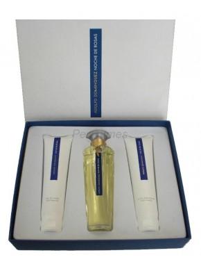 perfume Adolfo Dominguez Noche de Rosas edt 100ml + Gel 100ml + Leche Hidratante 100ml - colonia de mujer